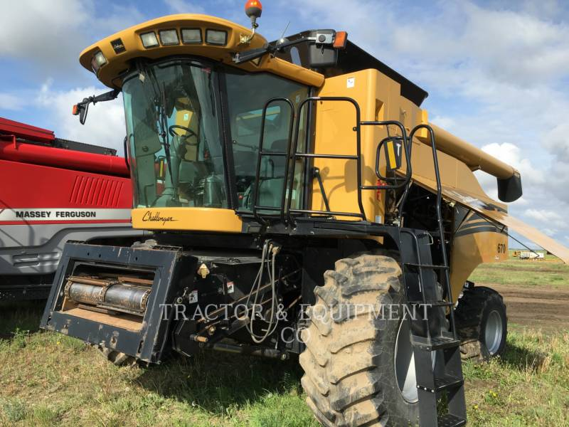 AGCO COMBINADOS 670 equipment  photo 2