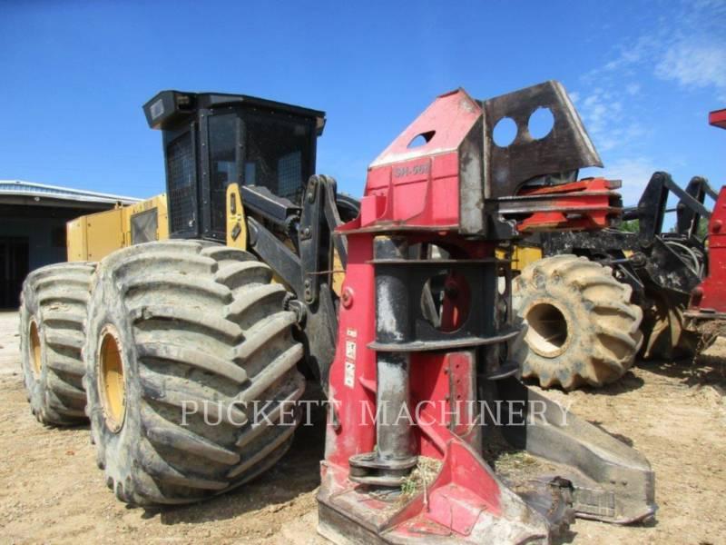 PRENTICE FORESTRY - FELLER BUNCHERS - WHEEL 553C equipment  photo 5