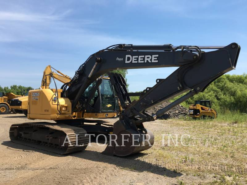 DEERE & CO. KETTEN-HYDRAULIKBAGGER 225D LC equipment  photo 1