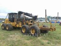 CATERPILLAR MACHINE FORESTIERE 574 equipment  photo 3