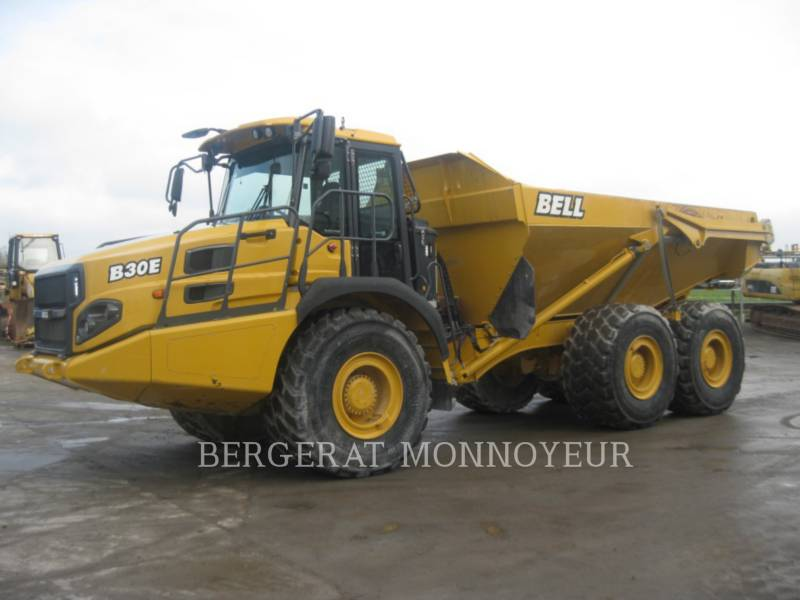 BELL EQUIPMENT NORTH AMERICA, INC. ARTICULATED TRUCKS B30E equipment  photo 1