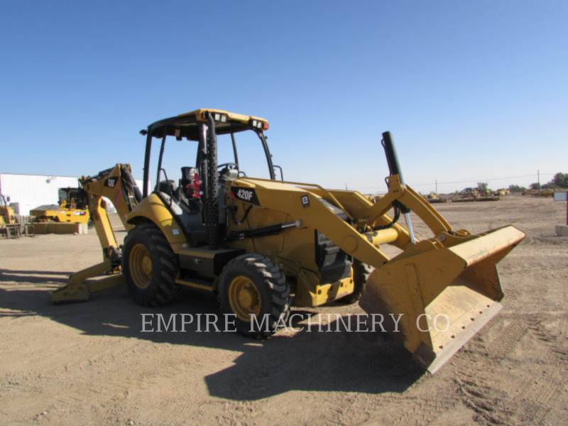 CATERPILLAR BACKHOE LOADERS 420F 4EO P equipment  photo 1