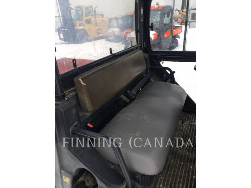 KUBOTA CORPORATION UTILITY VEHICLES / CARTS RTV 900 equipment  photo 5
