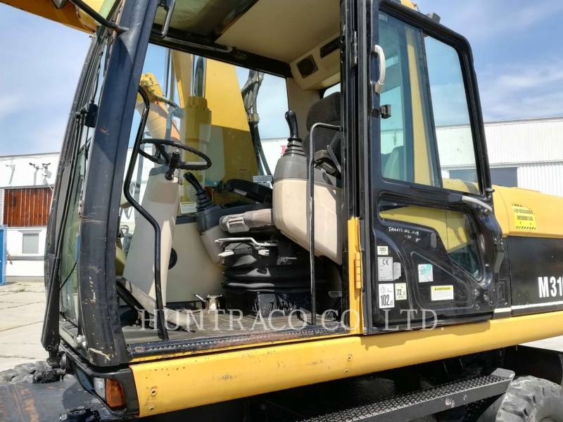 CATERPILLAR WHEEL EXCAVATORS M316C equipment  photo 22