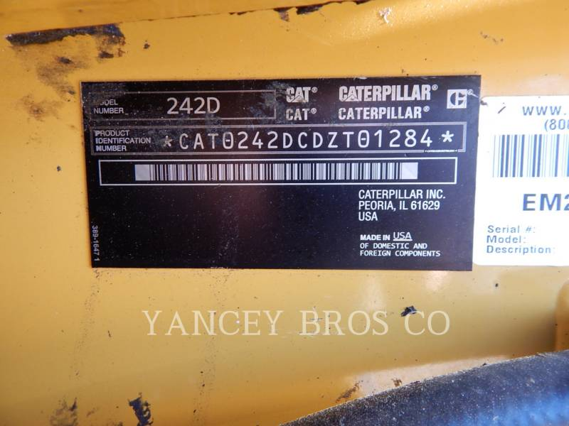 CATERPILLAR CHARGEURS COMPACTS RIGIDES 242D PDC equipment  photo 2