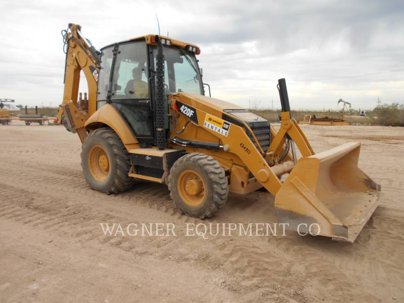 CATERPILLAR BACKHOE LOADERS 420F 4WDE equipment  photo 1