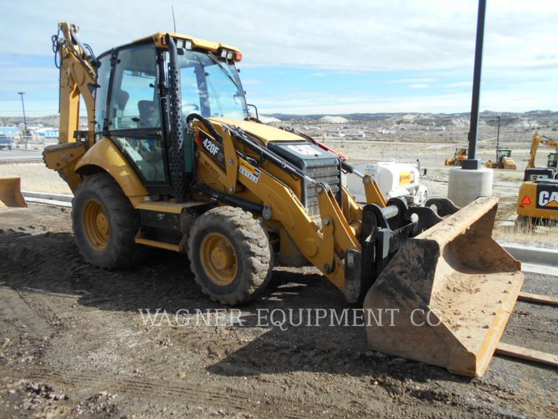 CATERPILLAR RETROESCAVADEIRAS 420F IT4WE equipment  photo 2