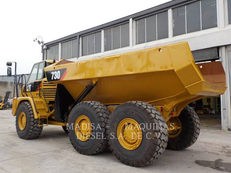 CATERPILLAR KNICKGELENKTE MULDENKIPPER 730 equipment  photo 11