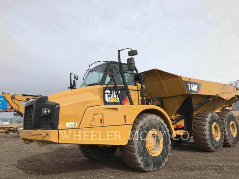 CATERPILLAR DUMPER ARTICOLATI 740B TG equipment  photo 1