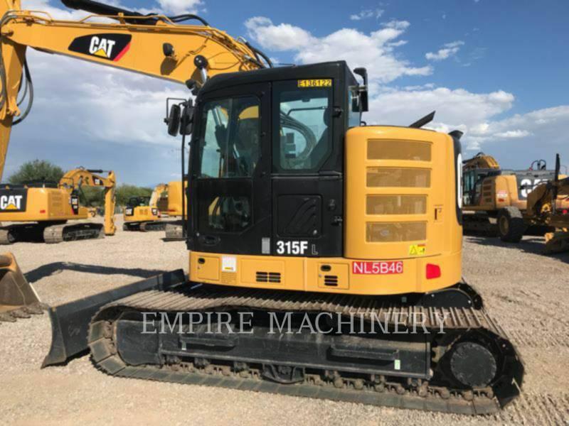 CATERPILLAR TRACK EXCAVATORS 315FLCR equipment  photo 8