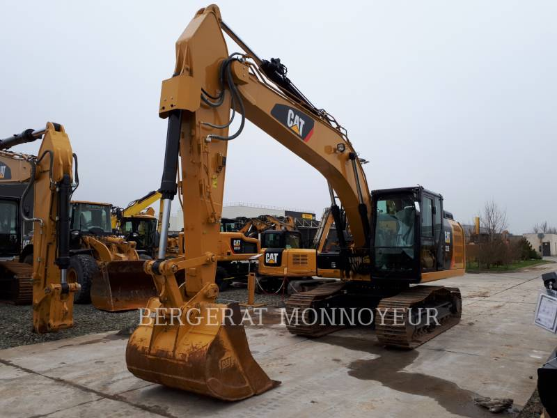 CATERPILLAR KETTEN-HYDRAULIKBAGGER 323E equipment  photo 5