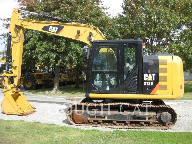 CATERPILLAR KETTEN-HYDRAULIKBAGGER 312E equipment  photo 5