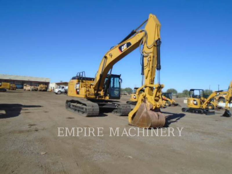CATERPILLAR KETTEN-HYDRAULIKBAGGER 329FL equipment  photo 1