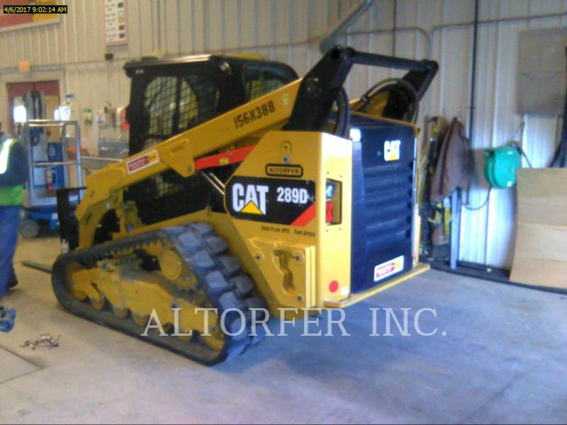 CATERPILLAR SKID STEER LOADERS 289D XPS equipment  photo 2