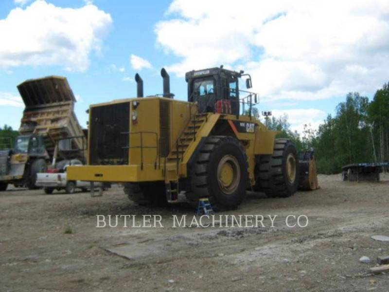 CATERPILLAR BERGBAU-RADLADER 993 K equipment  photo 4