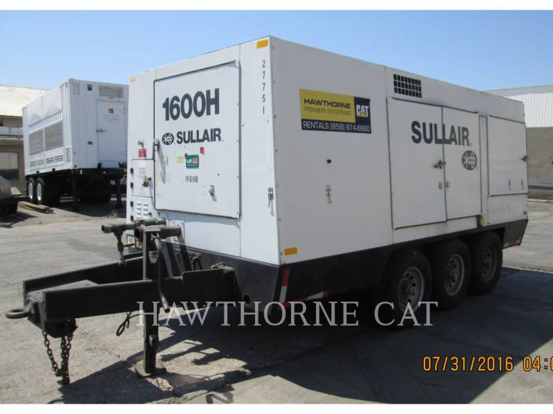 SULLAIR COMPRESOR DE AIRE (OBS) 1600HAF DTQ-CA3 equipment  photo 1
