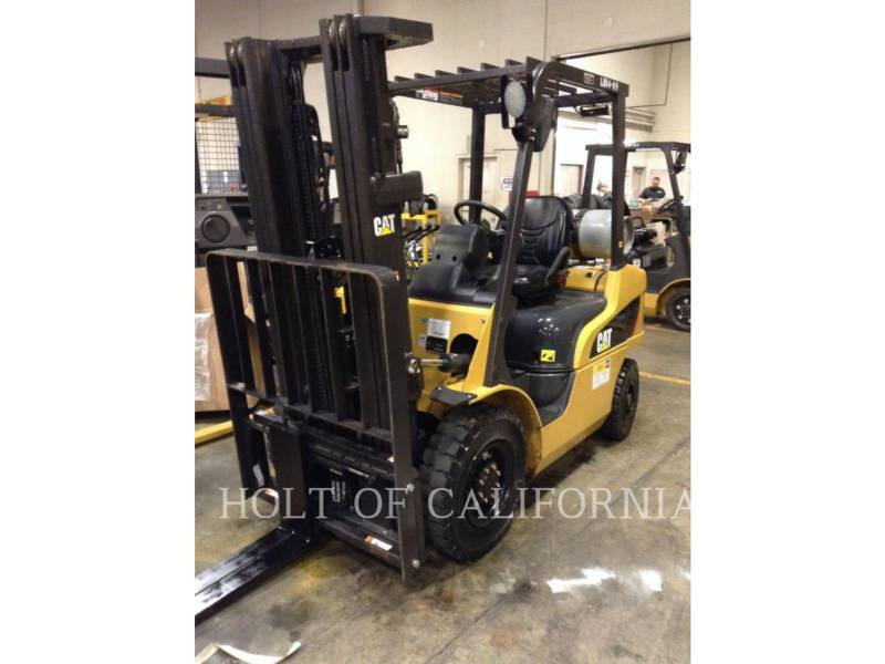 CATERPILLAR MITSUBISHI MONTACARGAS 2P5000-LE equipment  photo 1