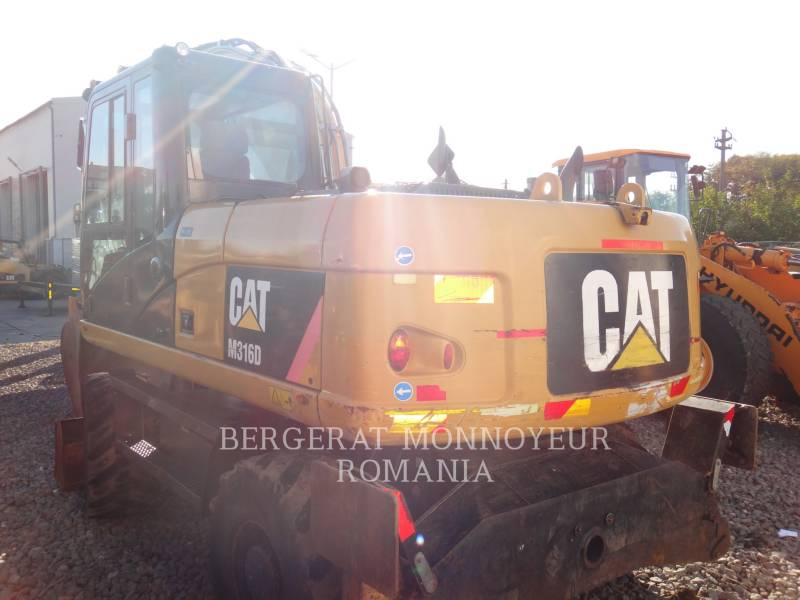 CATERPILLAR PELLES SUR PNEUS M316 D equipment  photo 2