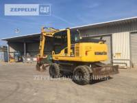 KOMATSU LTD. PELLES SUR PNEUS PW148-8 equipment  photo 3