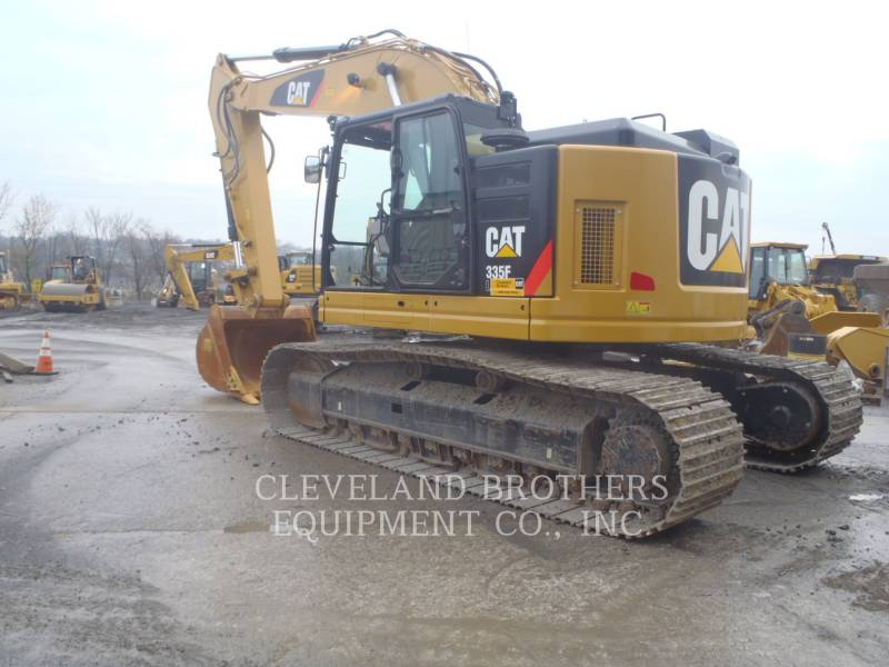 CATERPILLAR KETTEN-HYDRAULIKBAGGER 335FLCR equipment  photo 3