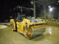 CATERPILLAR COMPATTATORE PER ASFALTO A DOPPIO TAMBURO VIBRANTE CB64B equipment  photo 1