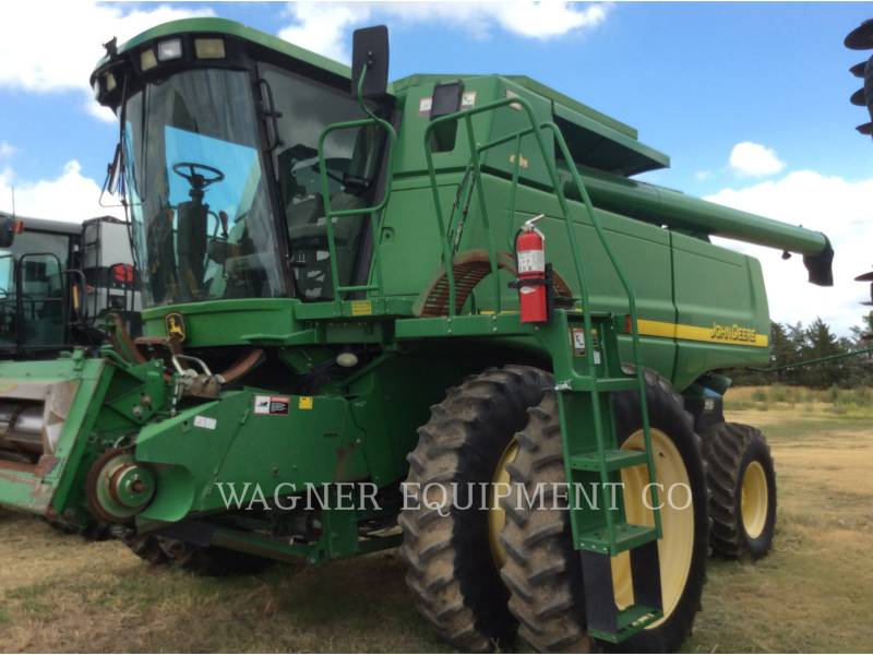 DEERE & CO. COMBINES WR9660 equipment  photo 1