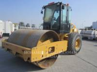 Equipment photo CATERPILLAR CS 533 E COMPATTATORE A SINGOLO TAMBURO VIBRANTE LISCIO 1