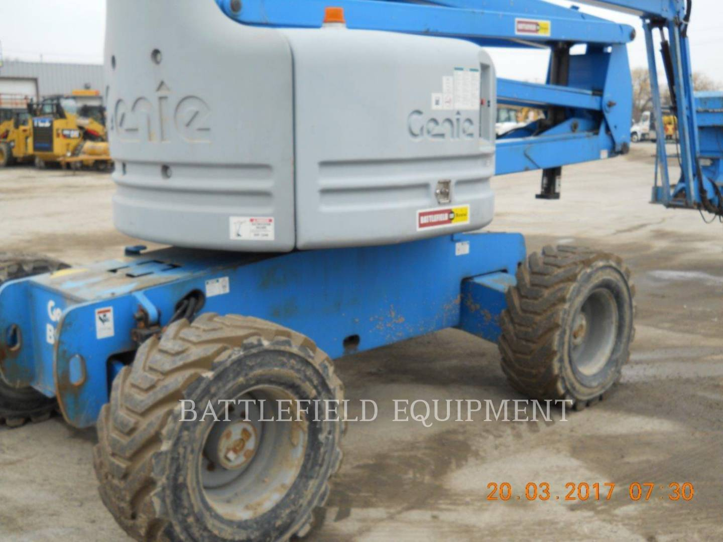 Detail photo of 2005 Genie Z60/34 from Construction Equipment Guide