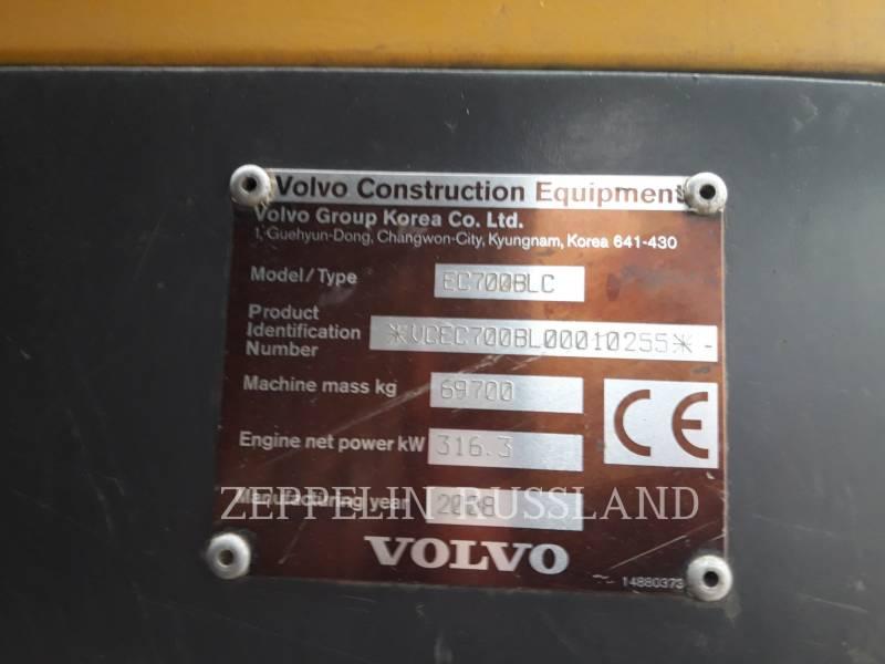 VOLVO CONSTRUCTION EQUIPMENT トラック油圧ショベル EC700BLC equipment  photo 5