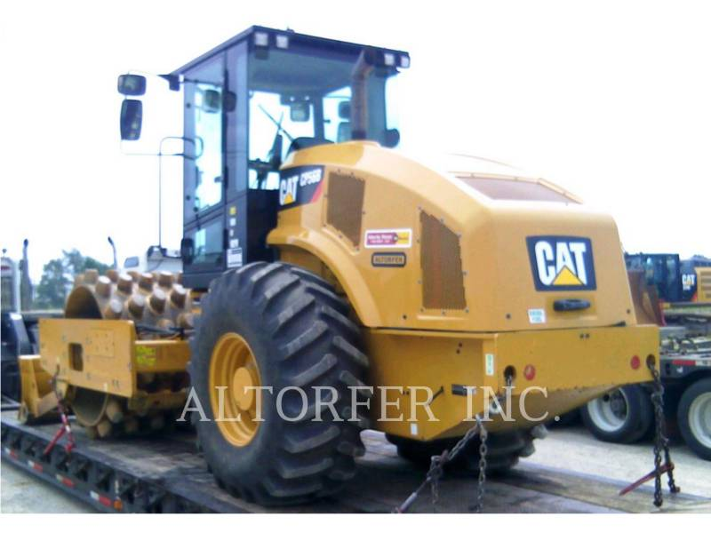 CATERPILLAR SOPORTE DE TAMBOR ÚNICO VIBRATORIO CP56B equipment  photo 2