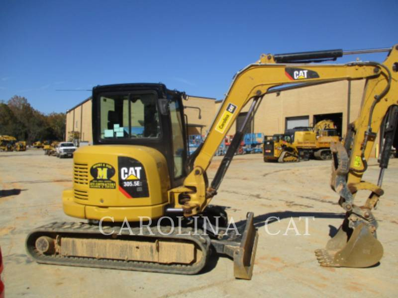 CATERPILLAR TRACK EXCAVATORS 305.5E2CBT equipment  photo 4