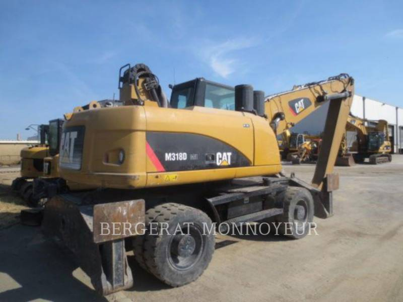 CATERPILLAR WHEEL EXCAVATORS M318D MH equipment  photo 3