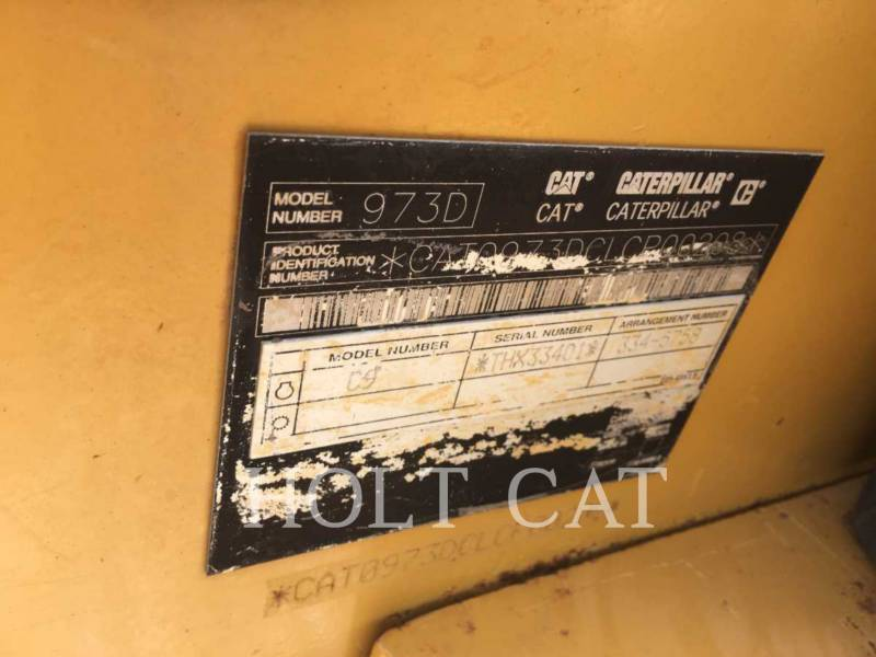 CATERPILLAR CARGADORES DE CADENAS 973D equipment  photo 5
