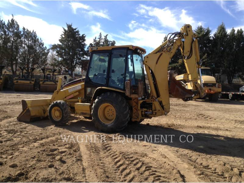 CATERPILLAR バックホーローダ 420D 4WDE equipment  photo 2