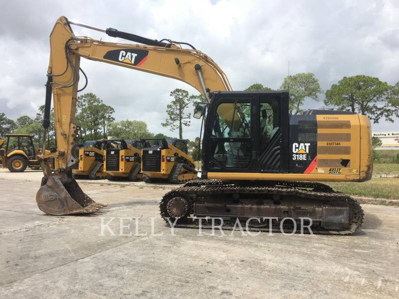 CATERPILLAR EXCAVADORAS DE CADENAS 318EL equipment  photo 2