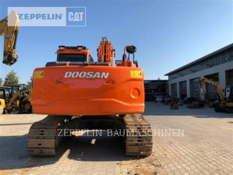 DOOSAN INFRACORE AMERICA CORP. TRACK EXCAVATORS DX180 equipment  photo 3