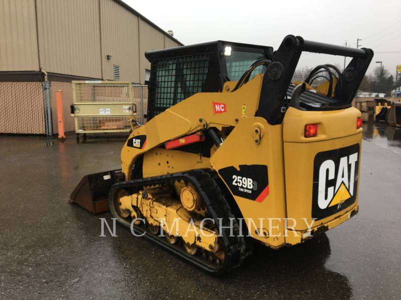 CATERPILLAR CHARGEURS COMPACTS RIGIDES 259B3 equipment  photo 5