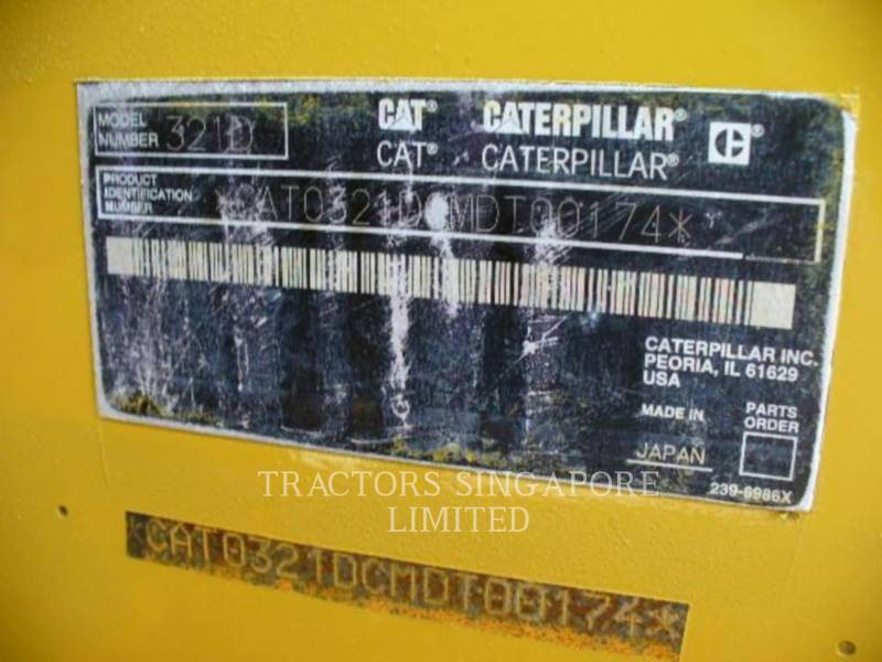 CATERPILLAR KOPARKI GĄSIENICOWE 321DLCR equipment  photo 15
