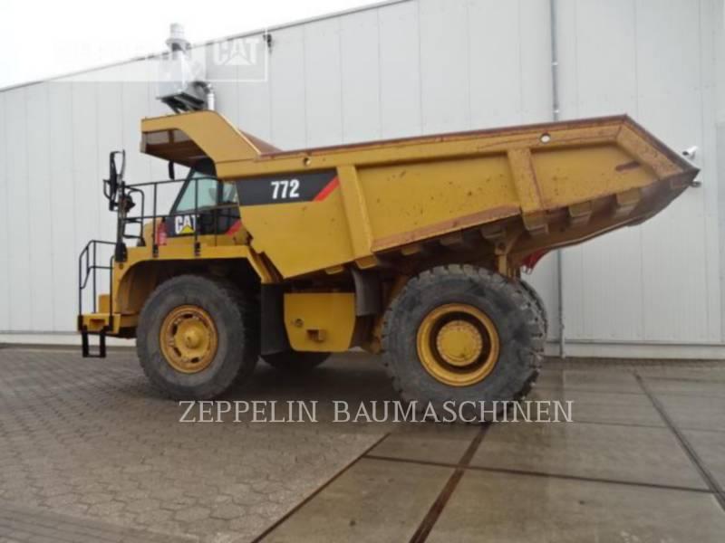CATERPILLAR OFF HIGHWAY TRUCKS 772 equipment  photo 6