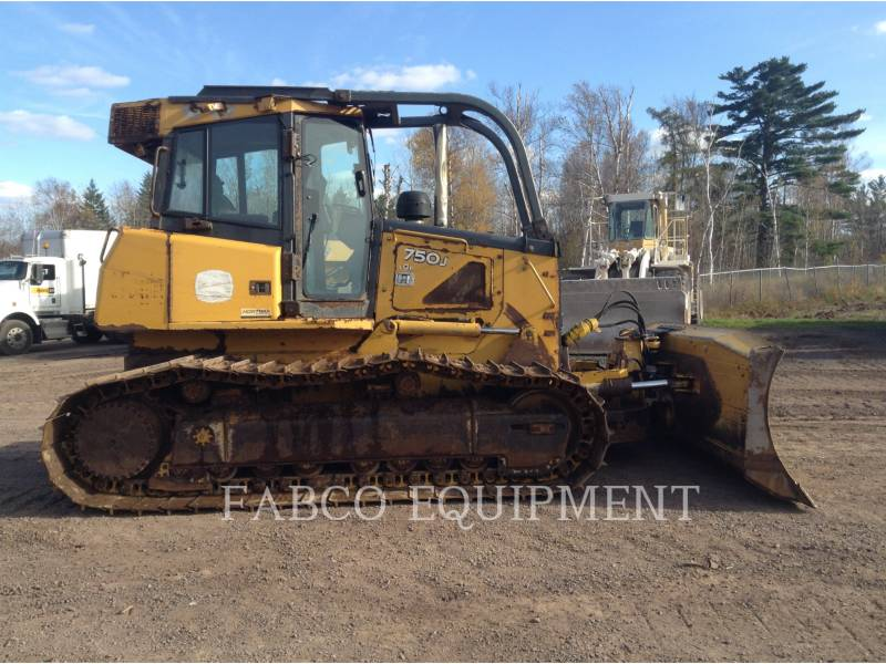 JOHN DEERE TRATORES DE ESTEIRAS 750 J equipment  photo 6