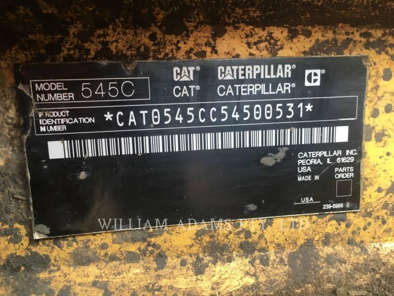 CATERPILLAR 林業 - スキッダ 545C equipment  photo 10