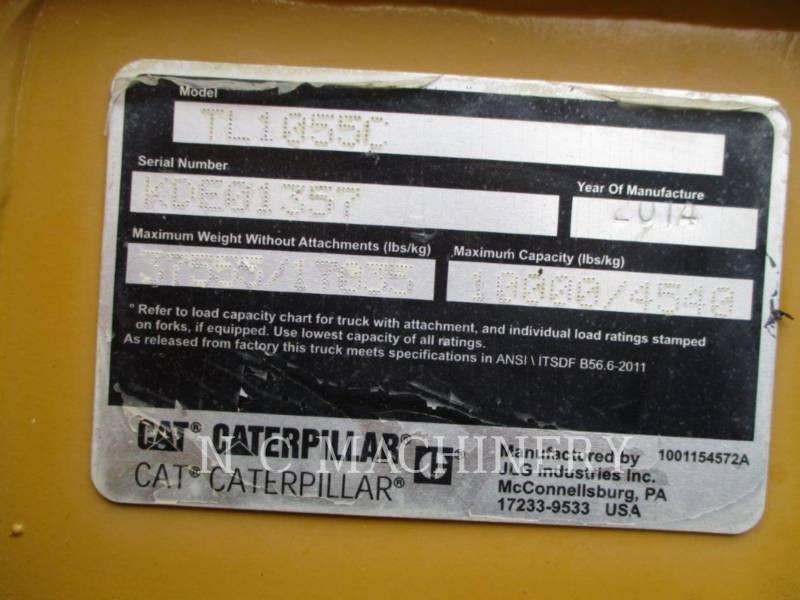 CATERPILLAR CHARGEUR À BRAS TÉLESCOPIQUE TL1055C equipment  photo 7