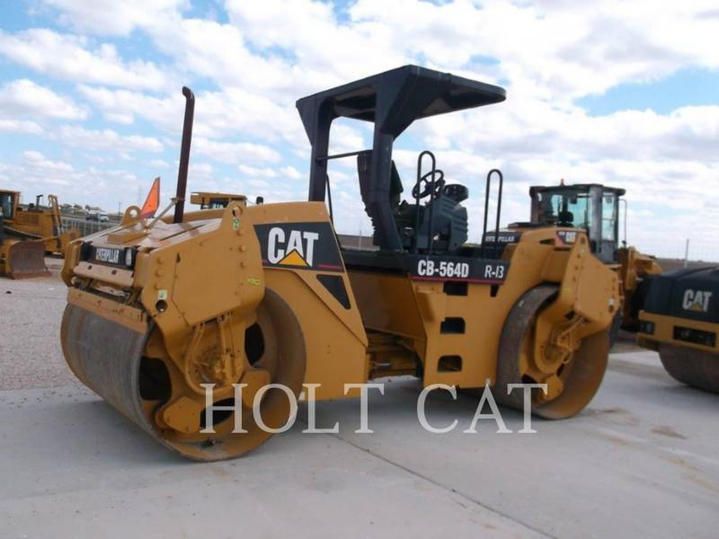 CATERPILLAR VIBRATORY DOUBLE DRUM ASPHALT CB-564D equipment  photo 4
