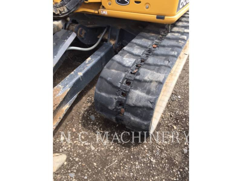 JOHN DEERE TRACK EXCAVATORS 60G equipment  photo 12