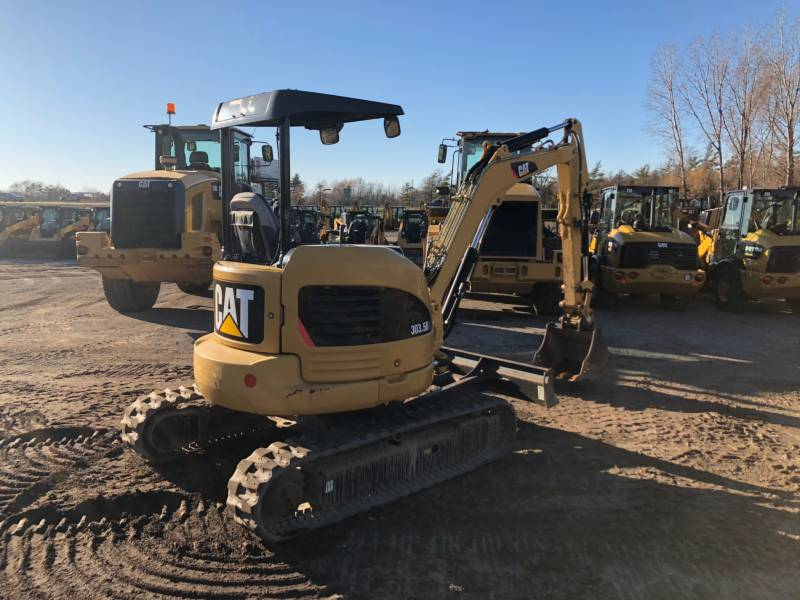 CATERPILLAR TRACK EXCAVATORS 303.5DCR equipment  photo 5