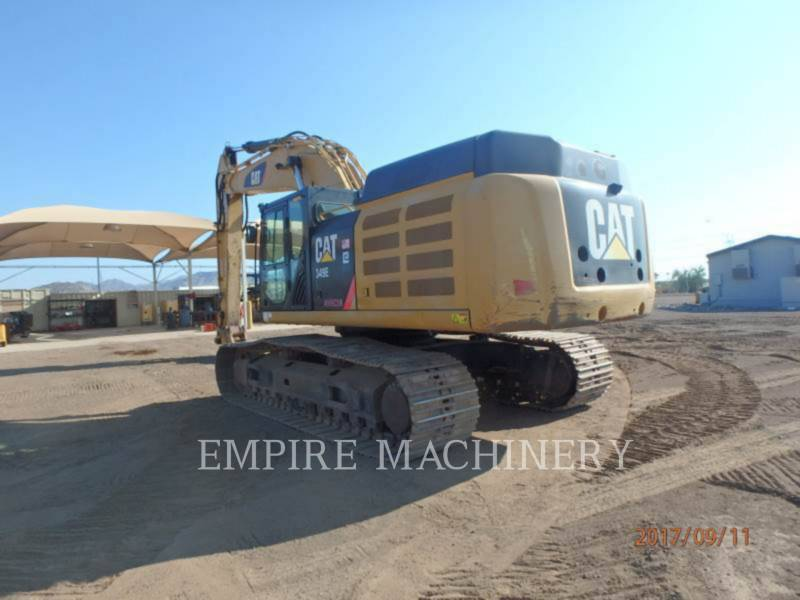 CATERPILLAR トラック油圧ショベル 349EL equipment  photo 3