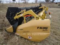 Equipment photo LEXION COMBINE F535 HEADERS 1