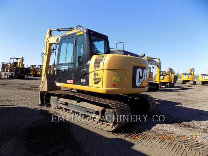 CATERPILLAR KETTEN-HYDRAULIKBAGGER 311F LRR equipment  photo 3