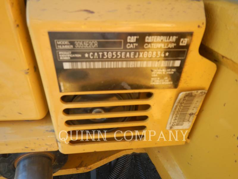 CATERPILLAR TRACK EXCAVATORS 305.5E CR equipment  photo 9
