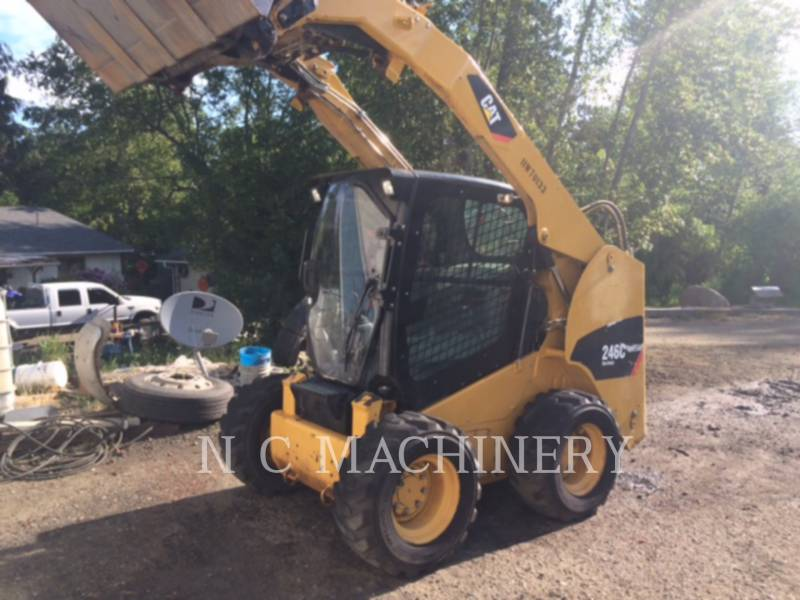 CATERPILLAR SKID STEER LOADERS 246C S4CB equipment  photo 2